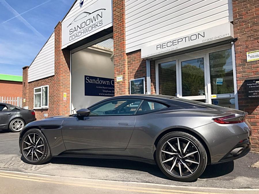 Aston Martin Accident Repair Centre For Surrey Middlesex London Car Body Repair Bodyshop