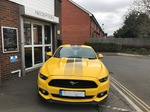 Ford Mustang Bodyshop Surrey