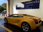 Lamborghini Accident Repair London