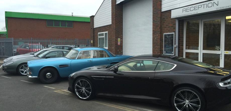 aston martin accident repair centre  surrey middlesex london car body repair bodyshop
