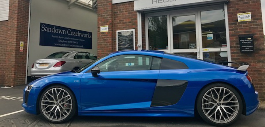 Audi Accident Repair Centre For Surrey Middlesex London